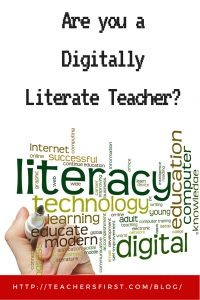 TF Blog - Are you a digitally literate teacher_