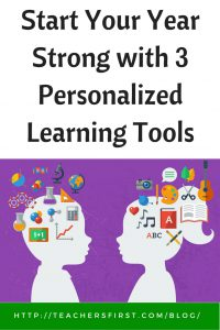 TF Blog - Tools for personalized learning