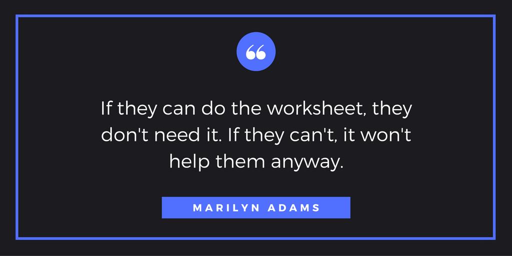 Quote 9-1-16 Marilyn Adams